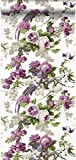 papier peint oiseaux de paradis violet - 326152 - d'Origin - luxury wallcoverings