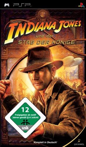 Indiana Jones und der Stab der Könige (Psp Spiele Stadt)
