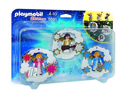 Playmobil Navidad - Pack Adornos de Navidad de ángel...