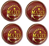 Tima Hightop Leather Cricket Ball Red (Pack of 4 Balls)  Cricket Balls 51pCEwjsWeL