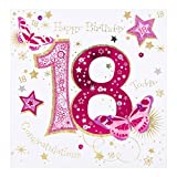 "Hallmark Ling 18. Geburtstagskarte ""Congratulations""–groß"