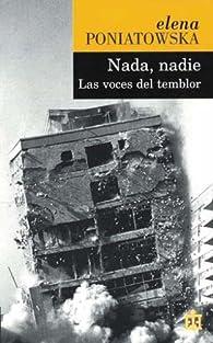 Nada, nadie: las voces del temblor par Elena Poniatowska