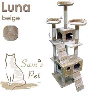 Sam´s Pet Kratzbaum Luna - Höhe: 182 cm - beige