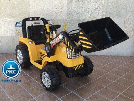 TRACTOR ELECTRICO CAT STYLE CON PALA Y RC