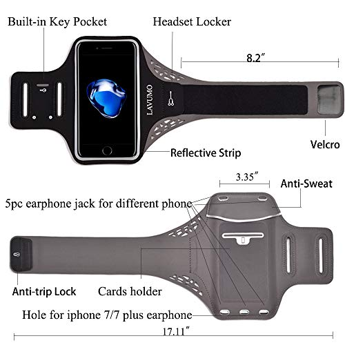 Zoom IMG-2 fascia braccio per smartphone iphone