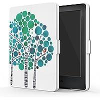 MoKo Funda para Kindle 8th Generación - Funda de SmartShell Más Delgada y Ligera con Auto Sueño/Estela - Bosque Azul (No es Compatible con el kinlde Paperwhite)