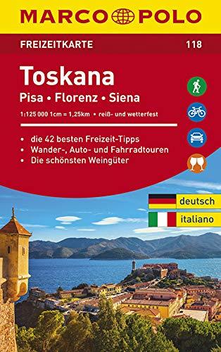 Toskana Schiefer (MARCO POLO Freizeitkarte Toskana)
