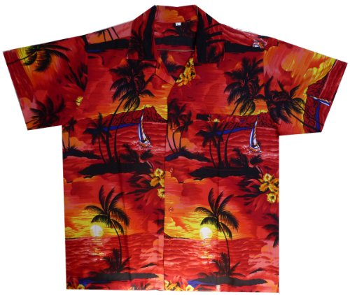 funky-camicia-hawaiana-surf-rosso-m