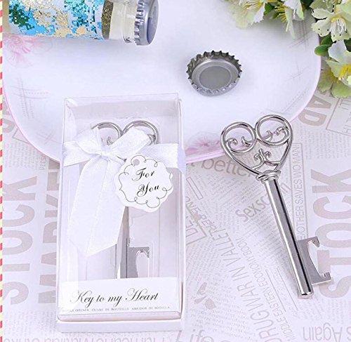 Zteng Europa Liebe Schlüssel Flaschenöffner Party oder Hochzeit Flaschenöffner Interessante Gastgeschenke zum Ihre Hochzeit oder Geburtstag Partei Gefälligkeiten Kreativ Souvenir Geschenk (60)
