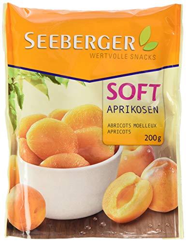 Seeberger Soft-Aprikosen geschwefelt, 13er Pack (13 x 200 g Beutel)