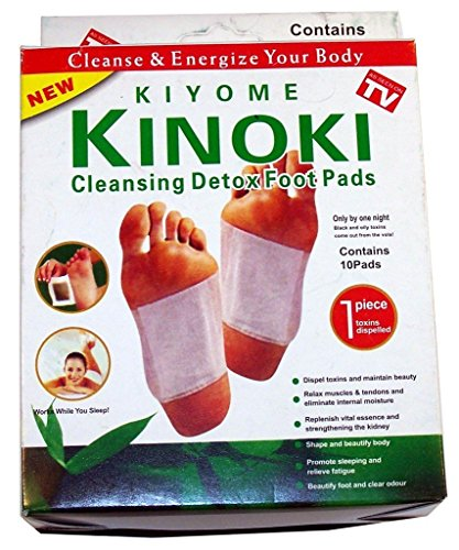40 Kinoki Foot Pads Fußpflaster Pflaster Vitalpflaster Neu DETOX Wellness Entgiftung Entschlackung