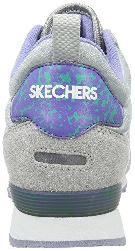 Skechers OG 85Ditzy Dancer, Baskets Basses Femme noir (BBK)