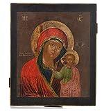 Alte russische Ikone Gottesmutter von Kazan 18. Jh.