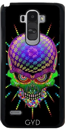 Custodia LG G4 Stylus - Pazzo Psychedelic Cranio by
