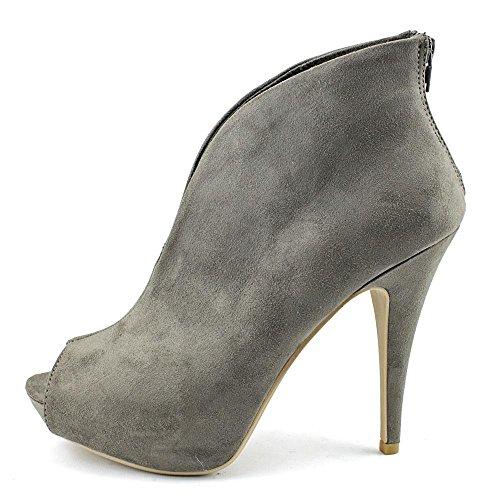 Material Girl Heath Toile Bottine Grey