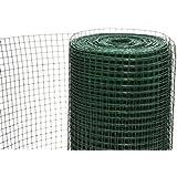 KrapTrap® Drahtgitter Kleintierzaun Hasendraht grün 50cm x 25m 12,7mm