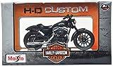 #5: Maisto Harley Davidson 2014 Sportster Iron 883 1:18 Die-cast Toy Bike Model (Black)