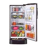 LG 215 L 5 Star Inverter Direct Cool Single Door Refrigerator (GL-D221AHPY, Hazel Plumeria)