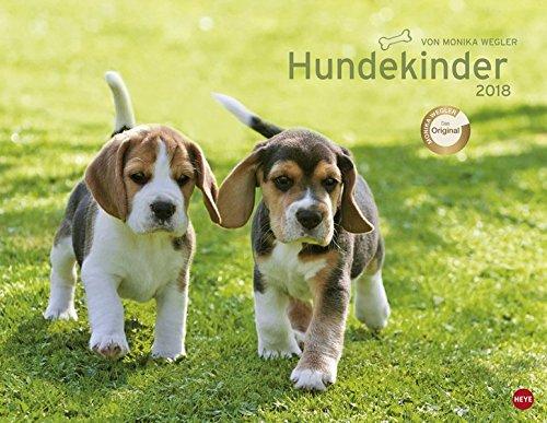 Hundekinder Posterkalender - Kalender 2018 (Welpen-kalender-kleine)
