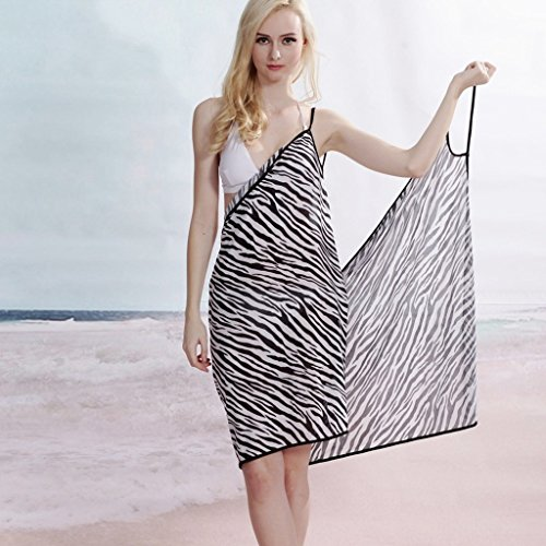 Strandkleid Beach Cover-up Sommerkleid Wickelkleid bunt Bikini cover up #10