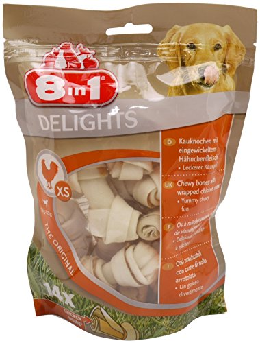 8in1-delights-xs-chicken-chewy-bones-14pc-70pc-dog-treat-rawhide-dental-1-pack-14-chewy-bones