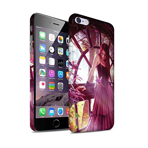 Officiel Elena Dudina Coque / Clipser Matte Etui pour Apple iPhone 6S+/Plus / Fille de Lune Design / Un avec la Nature Collection Couleurs d'Automne