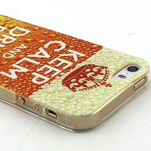 Voguecase® Pour Apple iPhone 6/6S 4.7, TPU Silicone Shell Housse Coque Étui Case Cover (Chat/ECG)+ Gratuit stylet l'écran aléatoire universelle BEER