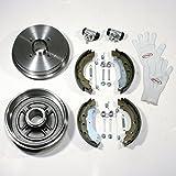 Autoparts-Online Set 60002104 Bremsen Bremstrommeln Set Hinten