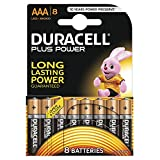 Duracell 7035017 Alkaline 1.5V non-rechargeable battery - non-rechargeable 8 batteries (Alkaline, 1.5 V, AAA)