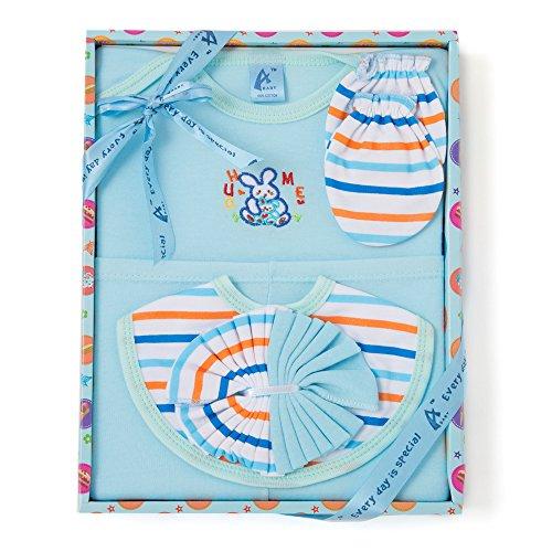 Stuff Jam 6 Piece Gift Set - Blue (0 - 1 Year)