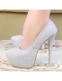 GTVERNH-Zapatos de tacon alto zapatos de mujer zapatos de boda zapatos de Corea clubes nocturnos princesas zapatos...