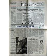 MONDE (LE) [No 16241] du 15/04/1997 - SPORTS - PARIS-ROUBAIX, MASTERS DE GOLF, FORMULE1 - LA JEUNESSE TRIOMPHE - M. MOBUTU REFUSE DE QUITTER LE POUVOIR - M. PRODI ACCLAME PAR LES ALBANAIS - GAZA - LA GUERRE POUR QUAND ? - LA GRANDE DISTRIBUTION AU CLUB MED - LA FIGURE DE PROUE DU BLACKBUSINESS - L'APPEL DE M. PERBEN - DEPUTES ET ASSOCIATIONS CRITIQUENT LE MANQUE D'AMBITION DU PROJET DE LOI SUR L'EXCLUSION - ELLEN, PREMIERE HEROINE LESBIENNE DU PRIME TIME PAR SYLVIE KAUFFMANN - LES C
