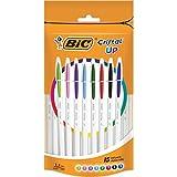 BIC 950503penna a sfera Cristal Up-colori assortiti (confezione da 15)