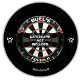 Bull' s Adulti Lanciatore Eva Dart Board Surround, Nero, 1