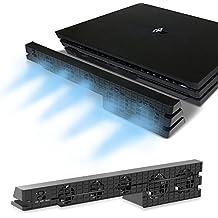 PS4 Pro ventilador de refrigeración - Turbo refrigerador Control De La Temperatura Del Súper USB Cooling Fan Cooler para Sony PlayStation 4 Pro