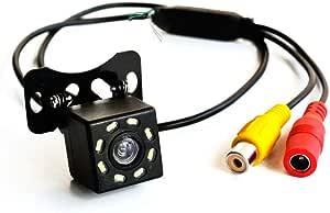 Lexxson Auto Frontkamera Rückfahrkamera Hd Ccd 8 Led Elektronik
