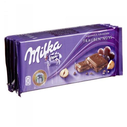 Milka Trauben-Nuss Schokolade 5x100g