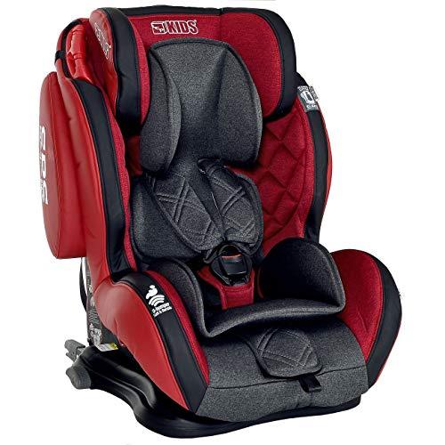 LCP Kids Autokindersitz Isofix 9-36 kg GT Comfort Gruppe 1 2 3- rot