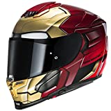 Casque Moto Hjc Marvel Rpha 70 Ironman Homecoming Rouge-Or (Xxl , Rouge)