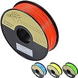 Filament d'imprimante 3D PLA rouge fluorescent FrontierFila 1 kg 1,75 mm