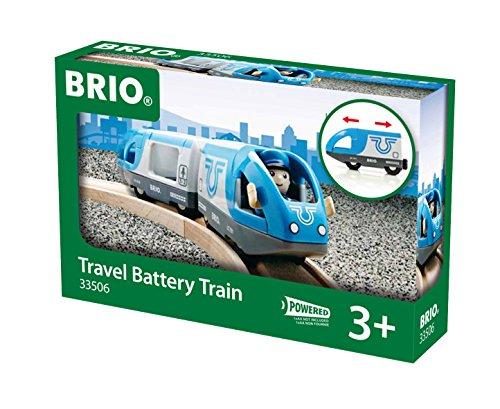 Brio Tren de pasajeros a pilas (33506)