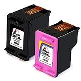 Mipelo Rigenerata HP 300XL 300 Grande Capacità Cartucce d'inchiostro (Nero e Tricolore) Sostituzione per HP ENVY 120 100 110 114, HP Photosmart C4680 C4780, HP Deskjet F4280 F4272 D1660 D2560