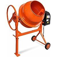 vidaXL Betonmischer 140L Betonmischmaschine Mörtel Mischmaschine Zementmischer
