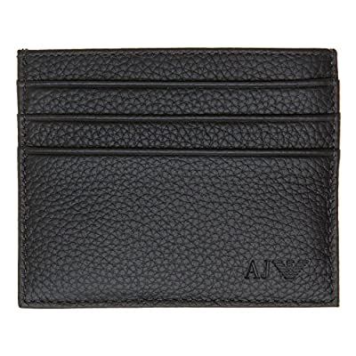 Armani Jeans Card Holder Black