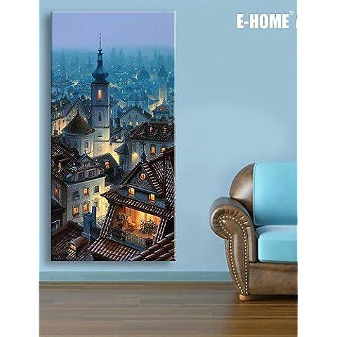GG Paesaggio Print Canvas Un pannello Pronto