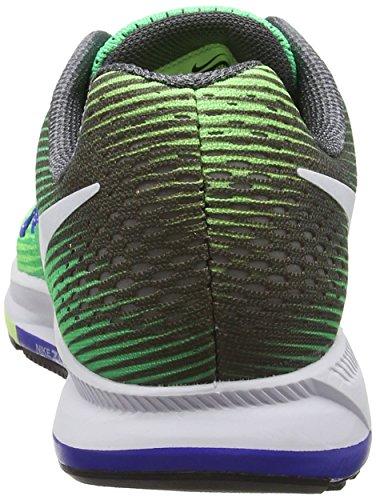 Zoom Grey Blue paramount Nike Electro Laufschuhe Grün Air white ghost Green Pegasus Wmns dk Green 33 Damen qaHw6t