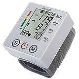 Blutdruckmessgerät Handgelenk Digitale LCD-Bildschirm Herz Puls-Monitor, LCD-Bildschirm, Einfach zu bedienen, Leicht zu Tragen, für die Tägliche Selbstuntersuchung.