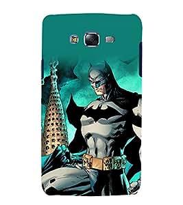 printtech Superhero Gotham Back Case Cover for Samsung Galaxy J2 / Samsung Galaxy J2 J200F