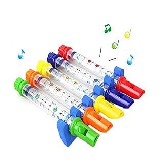 D&&R Bath Water Flutes, Musical Bath Time Toy Fun Tub Music Whistles Toy (1pcs)