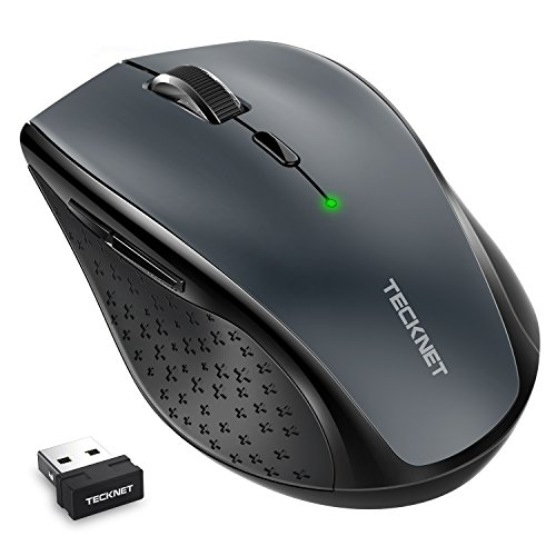 Mouse Wireless, TeckNet 4800 DPI Mouse Senza Fili con 6...